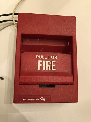 Edwards 277B-1110 Single Action Fire Alarm Pull Station - 278