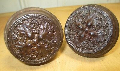 Ornate Eastlake Door Knobs - Matching Pair - Victorian Hardware