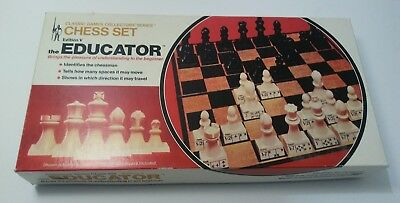 Classic Games Collectors' Series Chess Set Edition V The Educator Vintage