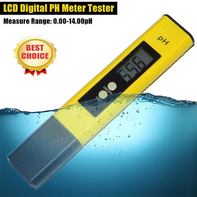 Electric Portable Digital PH Meter Tester Pocket Pen Aquarium Pool Water Monitor