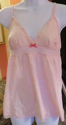 Nwt Victoria's Secret Pink Camisole Tank Toop Shirt Pout Babydoll