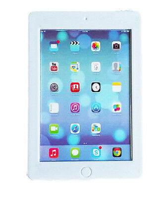 """White Toy Tablet Sized for American Girl Dolls & Kidz N Cats 18"""""""
