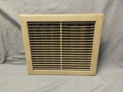 Vintage Stamped Steel Floor Heat Grate Ceiling Vent Old Hardware 12x14 689-17P