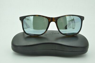 0f0dbc175d Ray Ban RB 4202 ANDY Sunglasses 710 Y4 Tortoise Polarized Silver Flash 55mm
