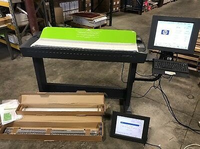 """HP DESIGNJET 4500 42"""" Wide Scanner --Q1277A with many EXTRAS"""