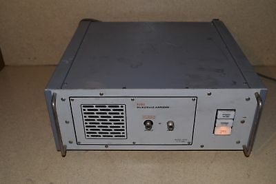Alfred Microwave Model 5040 7-11 Ghz Microwave Amplifier