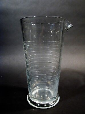 Antique Apothecary Laboratory Beaker Pitcher Steampunk Barware Industrial