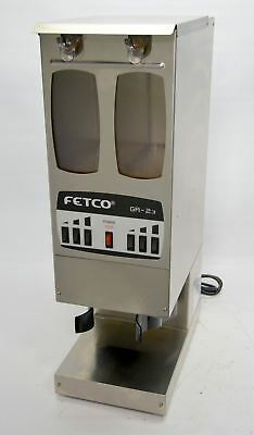 Fetco GR-2.3 Portion Controlled Commercial Coffee Bean Grinder Dual Hopper 2 GR