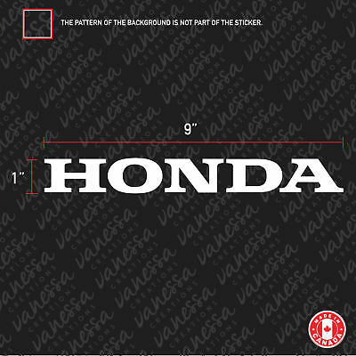2X HONDA LOGO Sticker Vinyl Decals
