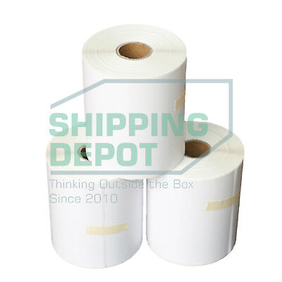 "1-80 Rolls 4x6 Direct Thermal Labels 250 / Roll for Zebra Eltron Printer 4"" x 6"""