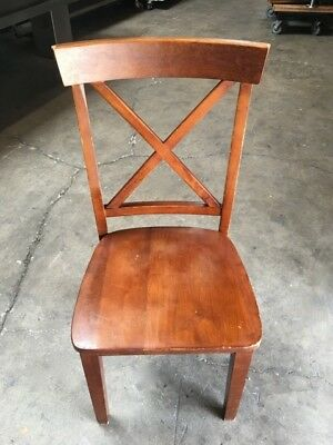 Dining Chair All Wood Mill Works #7113 Commercial Restaurant Dining Seats