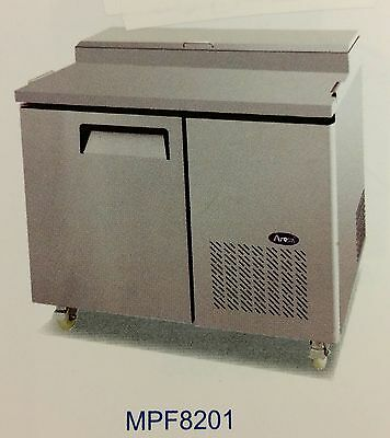 """NEW 44"""" 1 Door Refrigerated Pizza Prep Table Atosa MPF8201 #2228 Cold Top NSF"""
