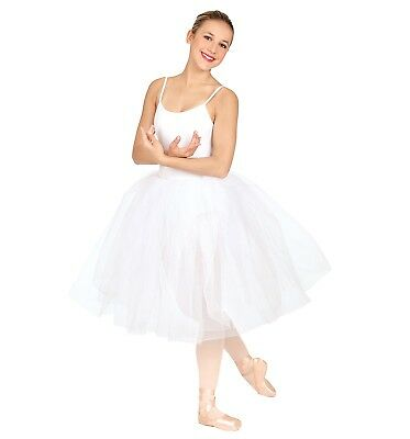 Capezio Dancewear Romantic Juliet Tutu 20' White  9830C  NWT