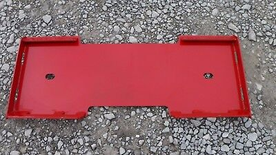 Mahindra Quick Attach Attachment Skid Steer Mount Weld Plate - Free Shipping!!