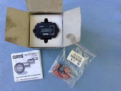 CURTIS 5mm HOUR METER 700 SERIES new