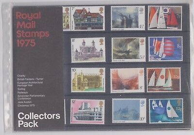 1975 Collectors Year Pack - Presentation Pack of Royal Mail Mint Stamps MNH