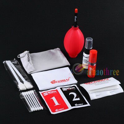 EIRMAI 9 in1 Professional Lens Cleaning Kit Dust Cleaner For Camera DV Camcorder