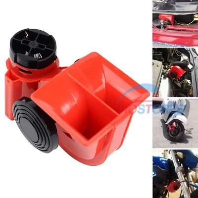 12V 125db Dual Tone Horn Motorrad Hupe Autohupe 180W Motorcycle PKW LKW Lufthorn