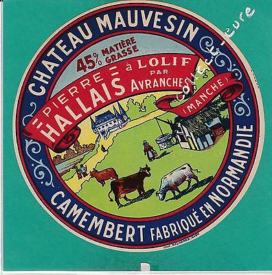 I1074 Fromage Camembert Chateau Mauvesin Pierre Hallais Lolif Avranches Manche