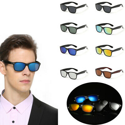 New Polarized Aluminium Sunglasses Fashion Retro Driving Mirrored Eyewear Shades
