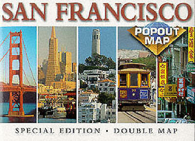 San Francisco (USA PopOut Maps), Compass Maps, Very Good Book