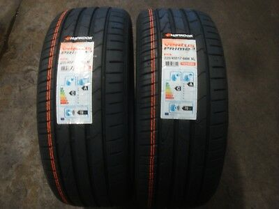 225 45 r 17 94w hankook ventus prime 3 extra load tyres x2. Black Bedroom Furniture Sets. Home Design Ideas