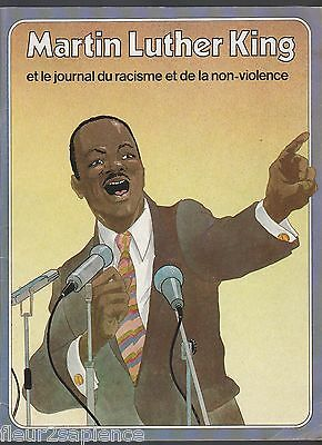 Martin Luther King et le journal du racisme et de la non-violence