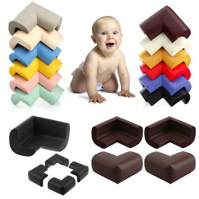 4 Pcs Baby Safety Table desk Edge Corner Cushion Guard Softener Bumper Protector