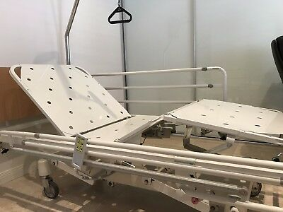 Electric Bed Hospital style Aged Care / home Care adjustable with side rails