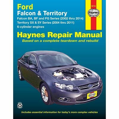 Haynes Car Manual For Ford Falcon / Territory 2002-2014 - 36734