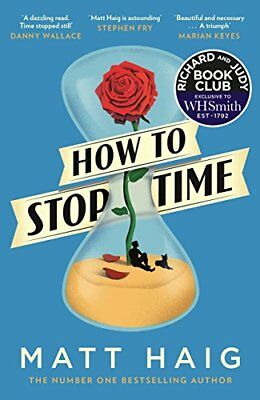 How to Stop Time by Matt Haig Paperback Book New