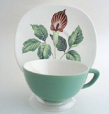Taylor Smith Taylor TS&T King O'Dell Cup & Saucer Set Green