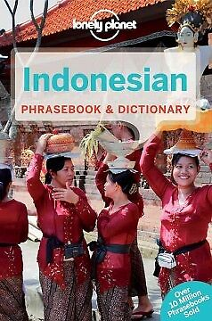 Lonely Planet Indonesian Phrasebook & Dictionary-NEW-9781741047721