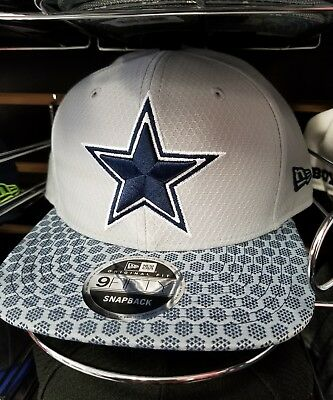 buy popular afd24 a473c Dallas Cowboys New Era 9FIFTY NFL 2017 Sideline On Field Snapback Cap Hat  950
