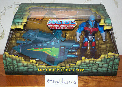 Masters of the Universe Classics Sky High with Jet Sled MISB New unopened MOTUC
