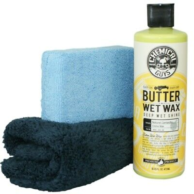 Chemical Guys Butter Wet Wax -Carnauba Wax im Set