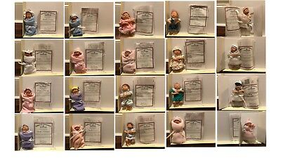Ashton Drake Heavenly Handfuls Dolls Complete Collection of 20 with all COA's