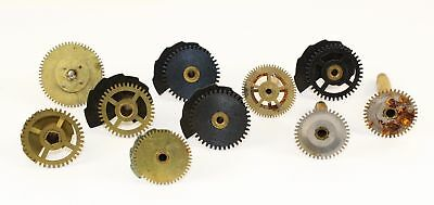 Antique Clock Wheels, Gears, & Cogs - Great For Steampunk Artwork!  Sm147