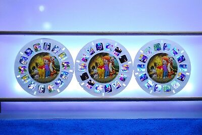My Friends Tigger & Pooh 3-reel Set L7964 - Reels Only - View-Master Disney