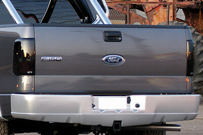 04-08 Ford F150 Styleside Truck GTS Smoke Acrylic Taillight Covers Pair GT4997