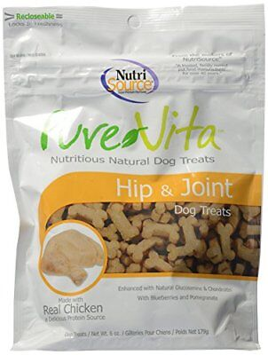 Pure Vita Hip and Joint Chicken 6 ounce | Nutritious Natural Dog Treat