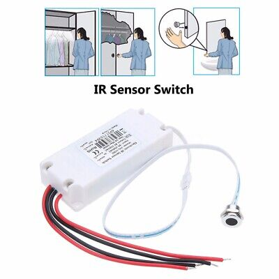 Touchless IR Motion Sensor On/Off Light Switch For Kitchen Mirror Cabinet Light