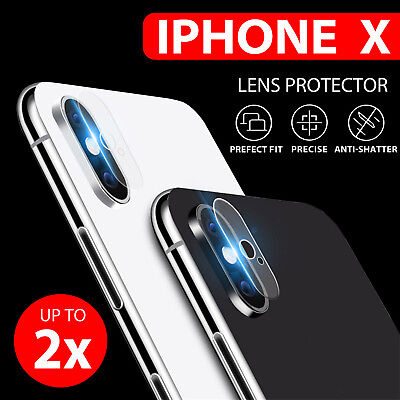 9H Hardness Back Camera Lens Tempered Glass Film Protector For iPhone X 7/8 Plus