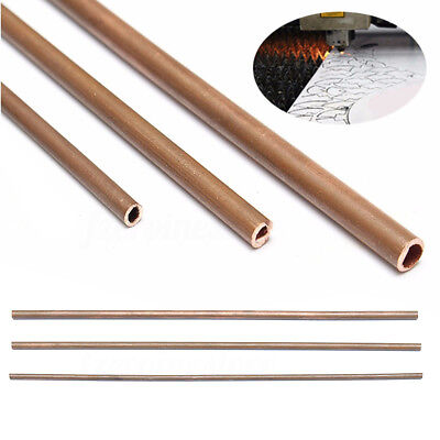 300mm Copper Pipe/ Tube 3mm 4mm 5mm DIY Metal Bathroom Kitchen Build Construct