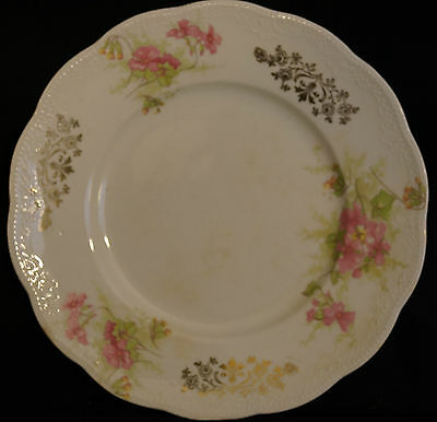 """Antique Homer Laughlin Cream THE ANGELUS 7"""" Luncheon Plate Early 1900s"""