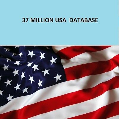 Email List 37 MILLION U.S.A Business Database With Email  & Phone for MARKETING