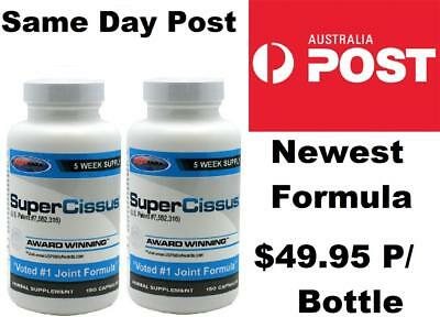 2 x USP Labs Super Cissus Joint Repair Cissus Quadrangularis NEW FORMULA 300 CAP