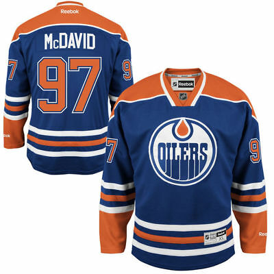 adidas Connor McDavid #97 Edmonton Oilers Authentic Pro NHL Trikot Third Navy, 50 (M)