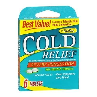 Lil' Drug Store Cold Relief Tablets 6 TB