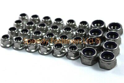 Kart Karting Stainless Steel m12 Nyloc Flange Wheel Nuts Project One Cadet 4 Set